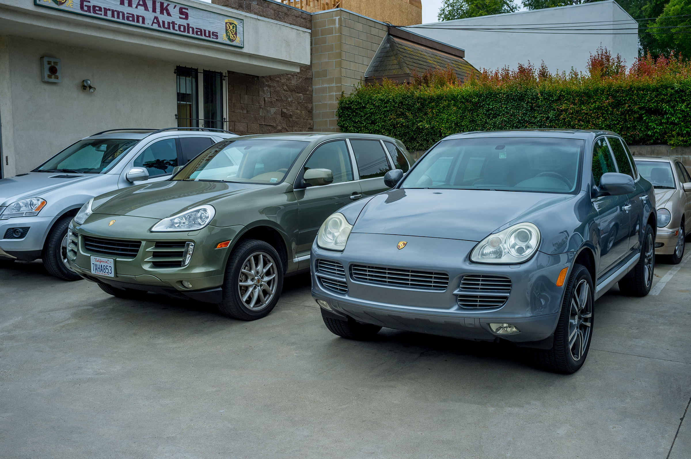 View Porsches Auto Repair at Haik's German Autohaus