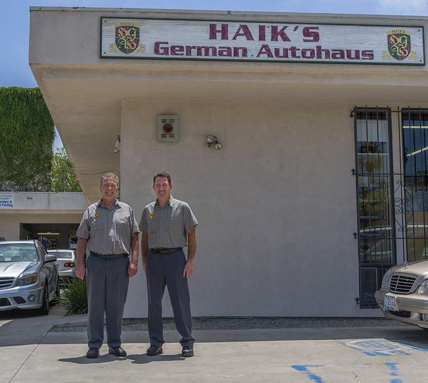 Haik and Kurt, Haik's German Autohaus